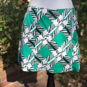 Lady Hagen Geometric Abstract Golf Skort